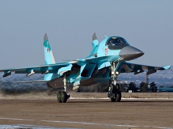 Máy bay chiến đấu Su-34