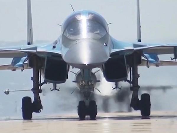 Su-34 xuất kích từ Iran, thả bom tiêu diệt 150 khủng bố ở Syria ảnh 1