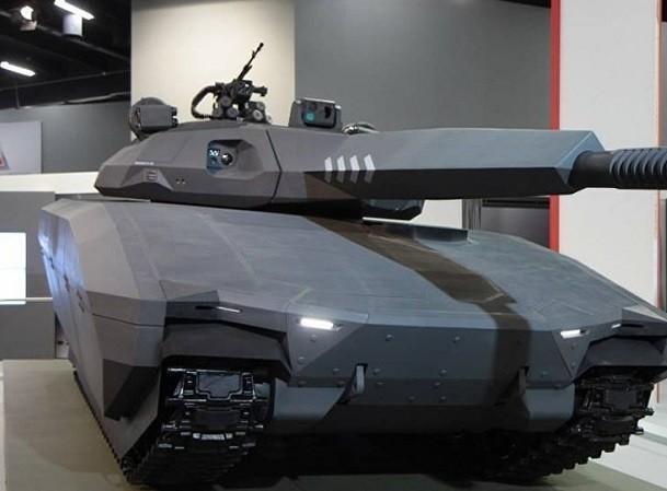 """Xe tăng PL-01 của Ba Lan có thiết kế rất """"ngầu"""""""