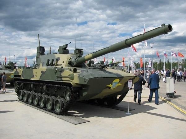 Sprut-SDM1 sẽ có khả năng hạ xe tăng ở khoảng cách 5.000m