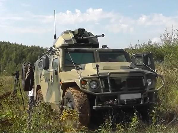 Xe bọc thép Tiger được gắn thêm súng máy 30mm