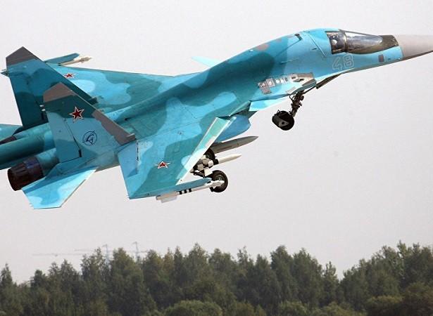 Máy bay chiến đấu - ném bom Su-34 của Nga