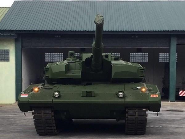 Xe tăng Leopard 2RI được thiết kế để làm việc tốt nhất tại Indonesia
