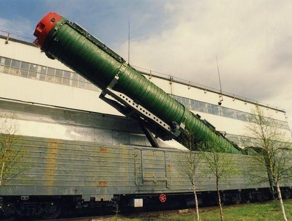 Nga là nước duy nhất từng sử dụng hệ thống tàu hỏa tên lửa
