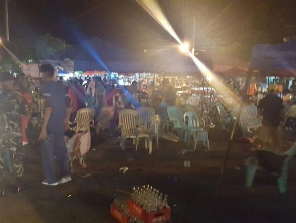 Nổ lớn tại chợ đêm Philippines, nhiều người thiệt mạng