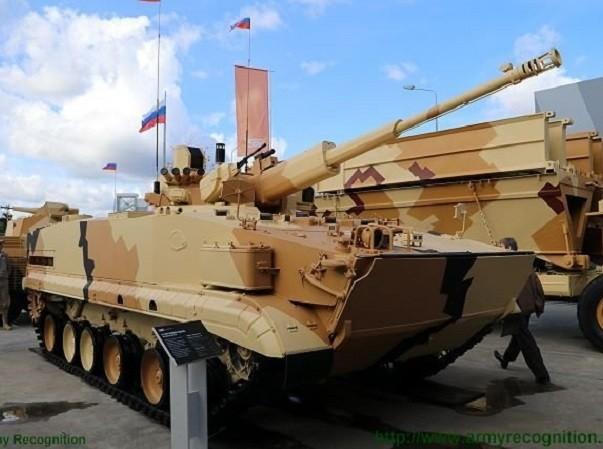 Phiên bản mới của BMP-3 có thêm pháo cối 57mm