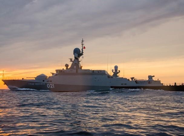 Buyan-M là tàu hộ vệ cỡ nhỏ được trang bị tên lửa hành trình Kalibr