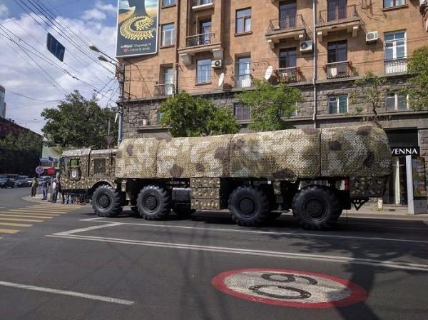 Nga bàn giao tên lửa đạn đạo Iskander-M cho Armenia