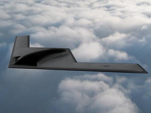 B-21 có thiết kế bên ngoài gần giống với B-2