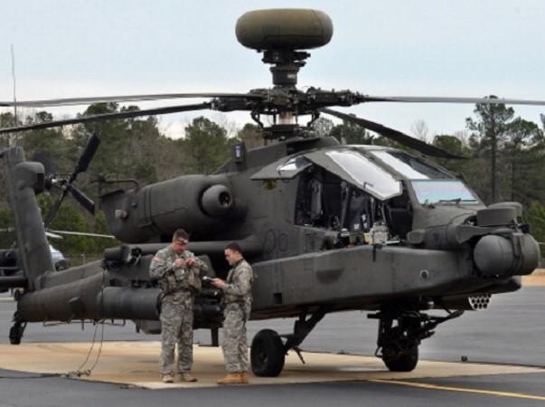 Hàn Quốc đã kí hợp đồng mua 36 trực thăng Apache từ Mỹ