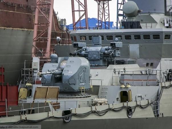 Pháo hạm AK-176AM sẽ trở nên chính xác hơn nhờ hệ thống ngắm bắn quang điện Sfera-02