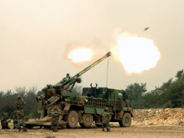 4 lựu pháo Caesar đã được triển khai đến Iraq