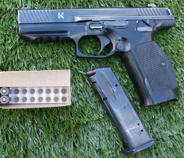 Nga ra mắt súng lục thế hệ mới Lebedev PL-15