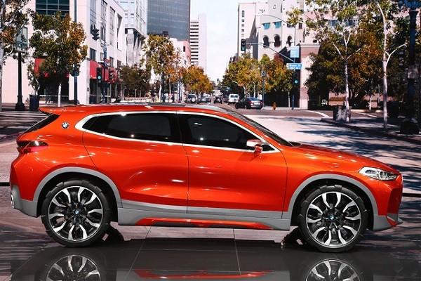 BMW X2 được phát triển trên khung gầm với X1