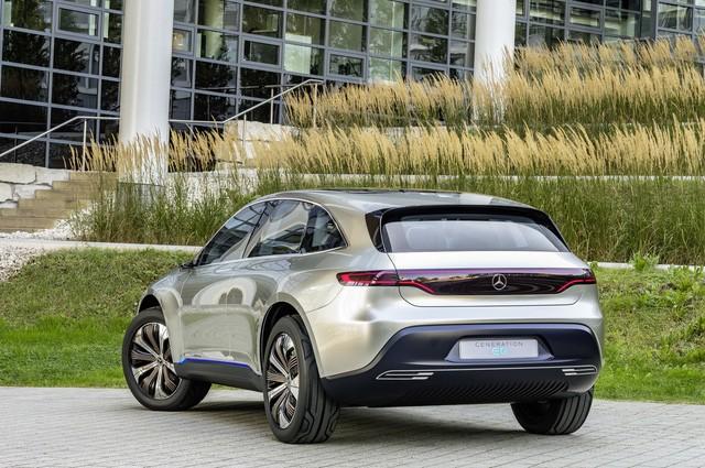Xe điện Generation EQ: Tương lai của Mercedes-Benz
