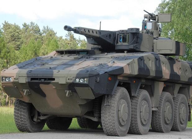 Xe chiến đấu bọc thép Boxer mới được ARTEC phát triển từ những năm 2000