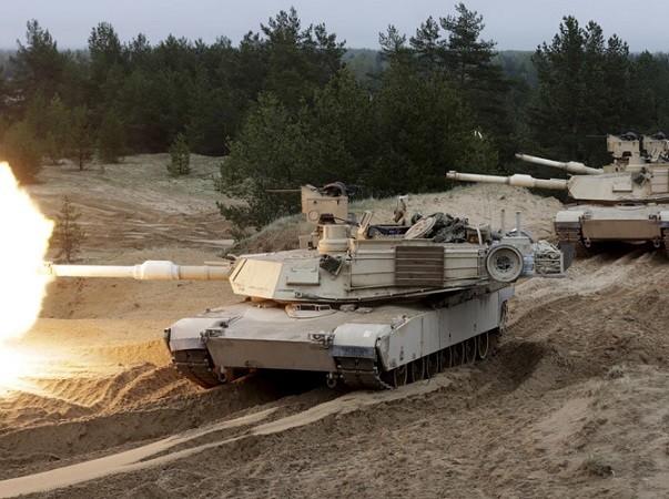 Lữ đoàn xe bọc thép số 1 của Mỹ sẽ ở lại Hàn Quốc trong vòng 9 tháng