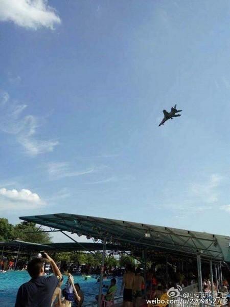 Máy bay ném bom JH-7 của Trung Quốc bị nghi rơi tại Quảng Tây