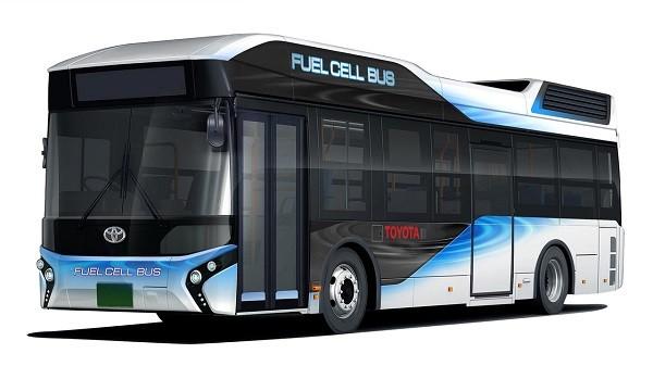 Toyota sẽ sản xuất cả xe buýt chạy bằng tế bào năng lượng hydro