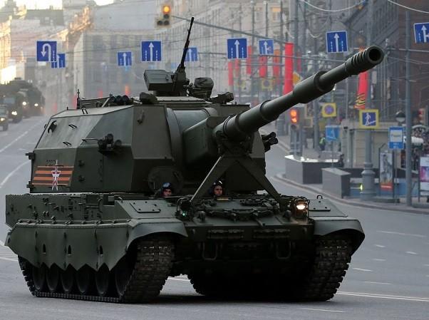 Lựu pháo Koalitsiya-SV sẽ được đặt trên khung gầm Armata trong tương lai gần