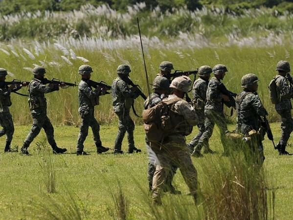 Philippines và Mỹ đã thay đổi kế hoạch tập trận chung
