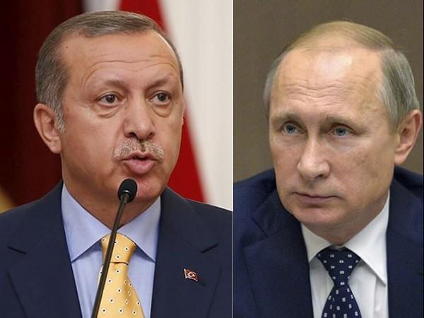 Tổng thống Erdogan có lời nói thay đổi hoàn toàn sau khi điện đàm với ông Putin