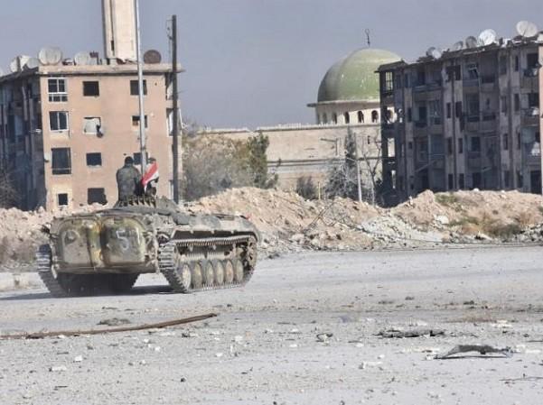 Quân đội Syria đang tấn công dồn dập nhưng phe đối lập quyết không đầu hàng