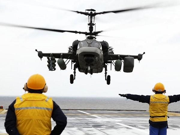 Trực thăng Ka-52K vừa bắt đầu tham gia chiến dịch tại Syria