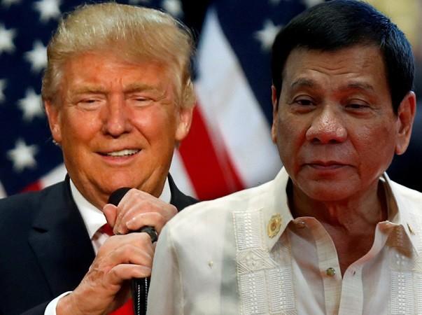 Ông Trump và ông Duterte đều đã có những lời khen dành cho nhau