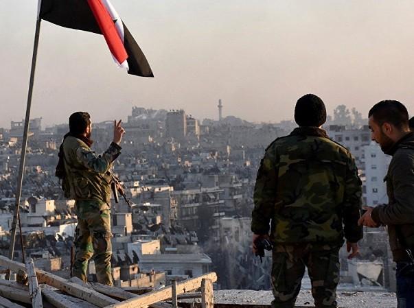 Quân đội Syria đang tiến tới việc giải phóng hoàn toàn miền đông Aleppo