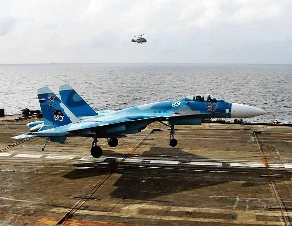 Dây hãm đà trên tàu sân bay Đô đốc Kuznetsov tiếp tục là nguyên nhân khiến máy bay gặp nạn
