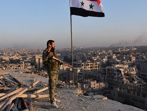 Quân đội Syria đang tiến tới giải phóng toàn bộ Aleppo