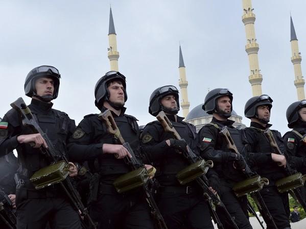 Đặc nhiệm tại Chechen chủ yếu đều theo đạo Hồi