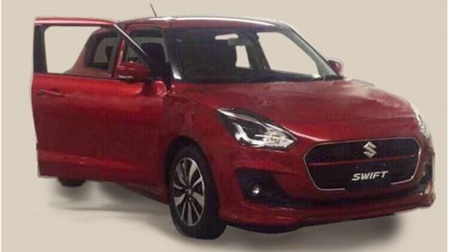 Suzuki Swift sẽ có thêm màu đỏ ánh kim mới