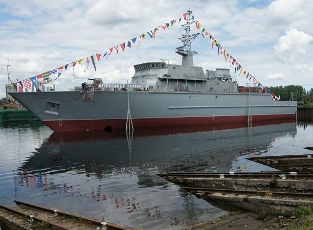 Tàu quét mìn Alexander Obukhov là chiếc đầu tiên thuộc Dự án 12700
