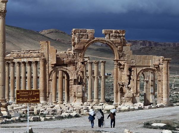 Thành phố cổ Palmyra bỗng nhiên lại trở thành điểm nóng trong một vài ngày qua