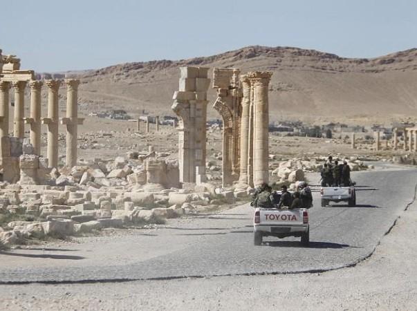 Quân đội Syria đang thất thủ tại Palmyra