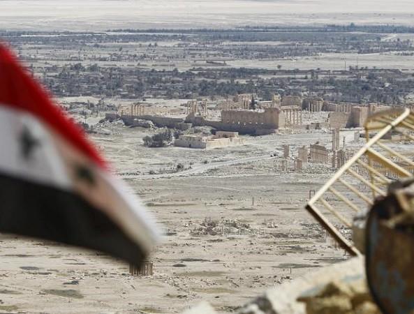 Palmyra đã được quân đội Syria tái chiếm từ hồi tháng 3-2016