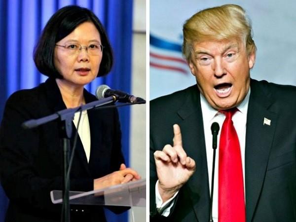 Ông Trump khẳng định Trung Quốc không có quyền cấm ông nghe điện thoại của lãnh đạo Đài Loan Thái Anh Văn