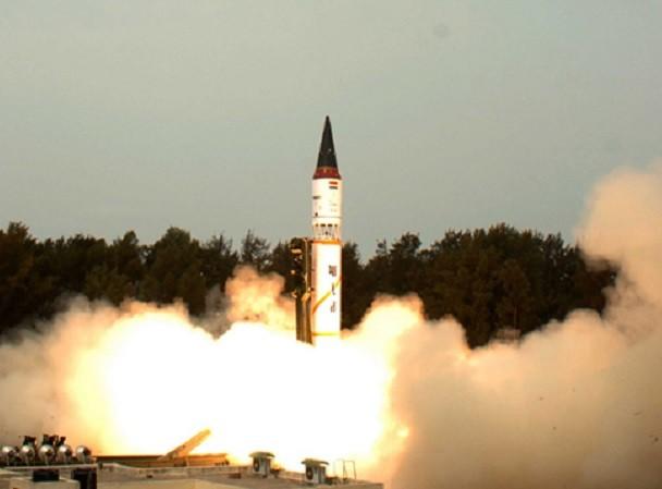 Agni-V là ICBM mạnh nhất của Ấn Độ