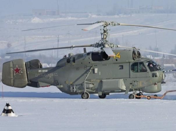 Hình ảnh chiếc trực thăng Ka-27M đầu tiên của quân đội Nga