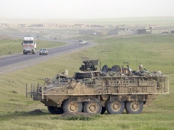 Xe bọc thép Stryker của Mỹ
