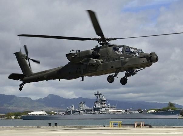 Apache đang là trực thăng tấn công mạnh nhất của quân đội Mỹ