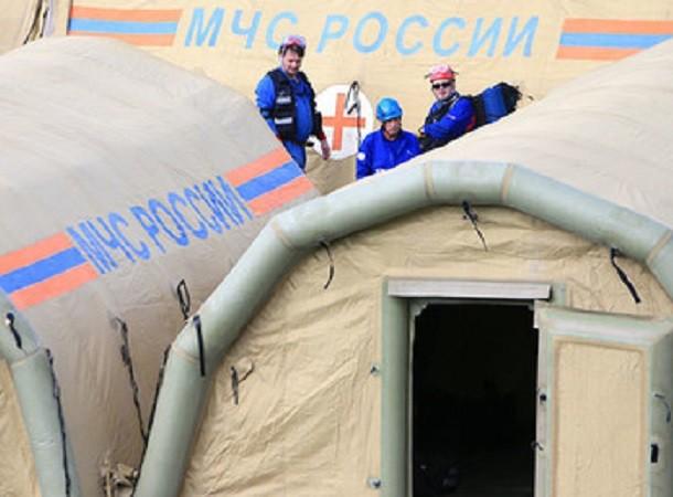 Bệnh viện dã chiến Nga để lại cho Syria có thể được vận chuyển bằng đường hàng không đến mọi nơi