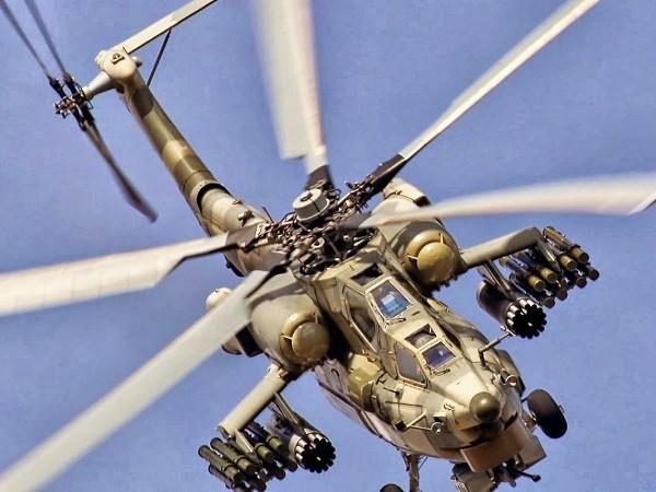 Trực thăng Mi-28NM đã bay thử lần đầu vào tháng 10-2016