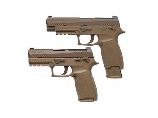 MHS sẽ dựa theo P320 và có 2 phiên bản cỡ nhỏ hoặc lớn