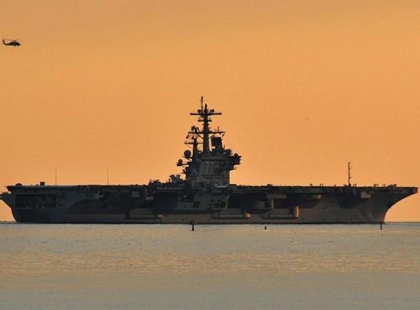Tàu sân bay USS George H.W. Bush đang hướng đến Địa Trung Hải
