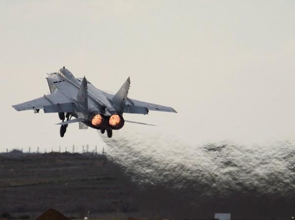 MiG-31 đang là mẫu máy bay đánh chặn có tốc độ nhanh nhất thế giới