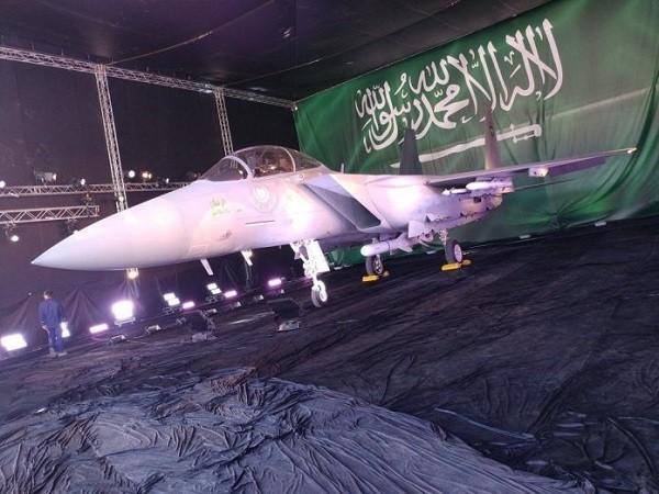Hình ảnh F-15SA tại triển lãm hàng không ở Ả-Rập Saudi