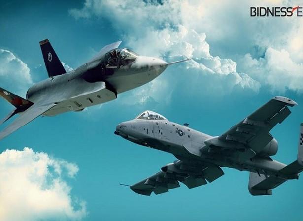 Cường kích A-10 chuẩn bị so tài cùng chiến đấu cơ F-35
